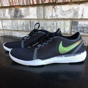 Nike Lunarlon Crosstrainers Black/White 6.5